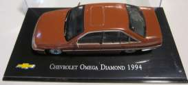 Chevrolet  - 1994 red-brown - 1:43 - Magazine Models - ChevyOmega - magChevyOmega | The Diecast Company