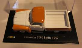 Chevrolet  - 1959 orange/white - 1:43 - Magazine Models - Chevy3100-59 - magChevy3100-59 | The Diecast Company