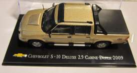 Chevrolet  - 2009 gold - 1:43 - Magazine Models - CheS-10-2009 - magCheS-10-2009 | The Diecast Company