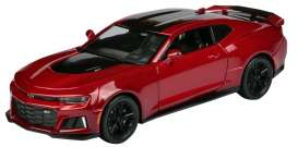 Chevrolet  - 2017 red/black - 1:24 - Motor Max - mmax79351r | The Diecast Company