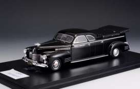 Cadillac  - Miller Meteor Flower Car 1941 black - 1:43 - Great Lighting Models - GLM43104001 | The Diecast Company