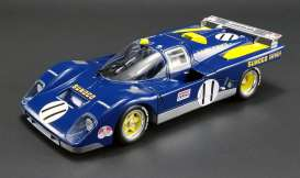 Ferrari  - 512M #11 *Sunoco* 1971 blue/yellow - 1:18 - Acme Diecast - acmeM1801001 | The Diecast Company
