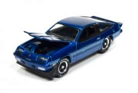 Chevrolet  - 1980 Candy Blue - 1:64 - Johnny Lightning - HC001F - JLHC001F | The Diecast Company