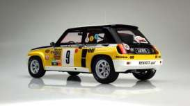 Renault  - 1981 yellow/white/black - 1:12 - OttOmobile Miniatures - ottoG030 | The Diecast Company