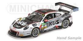 Porsche  - 2017 black/white - 1:18 - Minichamps - 155176917 - mc155176917 | The Diecast Company