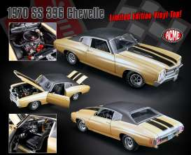 Acme Diecast - Chevrolet  - acme1805509VT : 1970 Chevelle SS 396 with Vinyl top