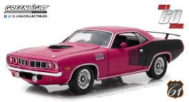 Plymouth  - Hemi Cuda *Shannon* 1970 purple - 1:18 - Highway 61 - hwy18010 | The Diecast Company