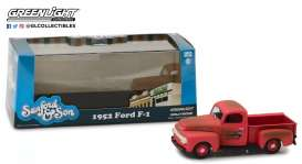 Ford  - F1 Truck 1952  - 1:43 - GreenLight - 86521 - gl86521 | The Diecast Company