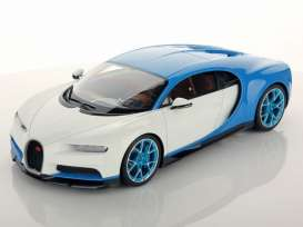 Bugatti  - 2016 white - 1:18 - GTA - gta11010w | The Diecast Company
