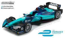GreenLight - Formula E  - gl18111 : 2018 FIA Formula E NIO Formula E Team, blue/light blue
