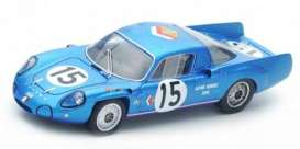 Alpine  - 1967 blue - 1:43 - Spark - sf113 - spasf113 | The Diecast Company