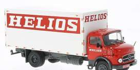 Mercedes Benz  - 1970 white/red - 1:43 - IXO Models - ixtru026 | The Diecast Company