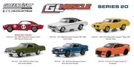 Assortment/ Mix  - various - 1:64 - GreenLight - 13210 - gl13210 | The Diecast Company