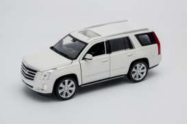 Cadillac  - 2017 white - 1:24 - Welly - 24084w - welly24084w | The Diecast Company