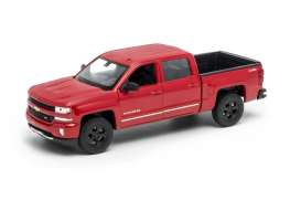 Chevrolet  - 2017 red - 1:24 - Welly - 24083r - welly24083r | The Diecast Company