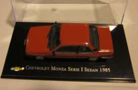 Chevrolet  - 1985 red - 1:43 - Magazine Models - ChevyMonza - magChevyMonza | The Diecast Company