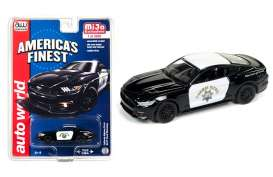 Auto World - Ford  - AWcp7425 : 2017 Ford Mustang *Highway Patrol*, black/white