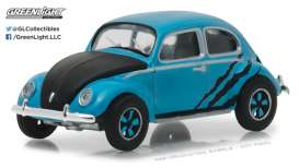 GreenLight - Volkswagen  - gl29890A : 1950 Volkswagen Split Window Beetle, blue/black