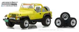 Jeep  - YJ 1991 yellow - 1:64 - GreenLight - gl97030D | The Diecast Company