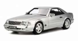 Mercedes Benz  - silver - 1:18 - OttOmobile Miniatures - otto240 | The Diecast Company