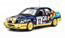 OttOmobile Miniatures - Ford  - otto732 : 1991 Ford Sierra 4x4 *Resin Serie* Monte Carlo, blue/yellow