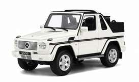 OttOmobile Miniatures - Mercedes  - otto275 : Mercedes-Benz Class G Cabriolet *Resin Serie*, white
