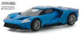 GreenLight - Ford  - gl29933 : 2017 Ford GT, blue