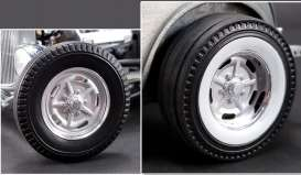 Wheels & tires Rims & tires - chrome - 1:18 - Acme Diecast - acme1805013W | The Diecast Company