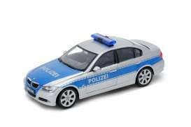 BMW  - 2004 blue/silver - 1:24 - Welly - welly22465BP | The Diecast Company