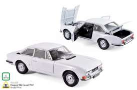 Peugeot  - 504 coupe 1969 arose white - 1:18 - Norev - 184825 - nor184825 | The Diecast Company