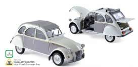 Citroen  - 1984 meije white & cormoran grey - 1:18 - Norev - nor181494 | The Diecast Company