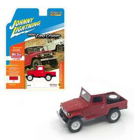 Toyota  - Land Cruiser 1980 red - 1:64 - Johnny Lightning - JLCP7028 | The Diecast Company