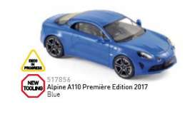 Renault  - Alpine A110 2017 olive green - 1:43 - Norev - nor517856 | The Diecast Company