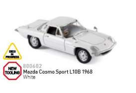 Mazda  - 1968 white - 1:43 - Norev - nor800602 | The Diecast Company