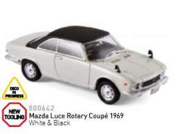 Mazda  - 1969 white/black - 1:43 - Norev - nor800642 | The Diecast Company