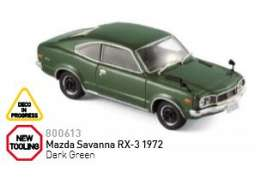 Mazda  - 1972 dark green  - 1:43 - Norev - nor800613 | The Diecast Company