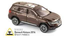 Norev - Renault  - nor518392 : 2016 Renault Koleos, brown metallic