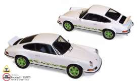Porsche  - 911 RS 1973 white/green - 1:18 - Norev - 187636 - nor187636 | The Diecast Company