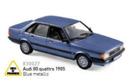 Audi  - 2017 blue metallic - 1:43 - Norev - nor830027 | The Diecast Company