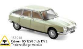 Citroen  - 1973 tholonet beige metallic - 1:43 - Norev - nor158218 | The Diecast Company