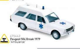 Peugeot  - 1979  - 1:43 - Norev - nor475442 | The Diecast Company