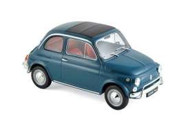 Fiat  - 500L 1979 blue - 1:18 - Norev - 187770 - nor187770 | The Diecast Company