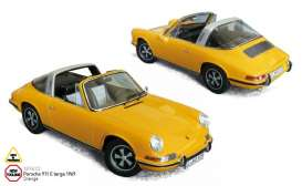 Porsche  - 1969 orange - 1:18 - Norev - nor187633 | The Diecast Company