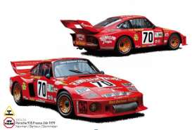 Porsche  - 1979 red - 1:18 - Norev - 187436 - nor187436 | The Diecast Company