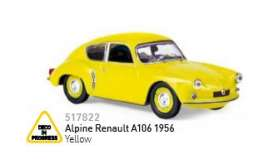 Renault  - 1990 yellow - 1:18 - Norev - nor517822 | The Diecast Company