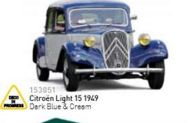 Citroen  - 1949 dark blue & green - 1:43 - Norev - nor153051 | The Diecast Company