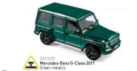 Mercedes Benz  - 2017 green metallic - 1:43 - Norev - 351339 - nor351339 | The Diecast Company