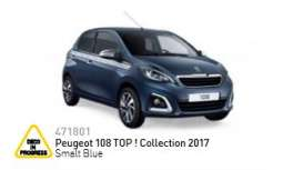 Peugeot  - 2017 smalt blue - 1:43 - Norev - 471801 - nor471801 | The Diecast Company