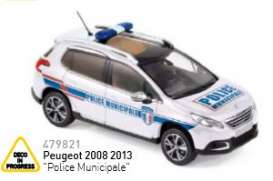 Peugeot  - 2013 white - 1:43 - Norev - nor479821 | The Diecast Company
