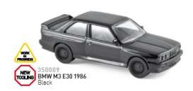 BMW  - 1986 black - 1:43 - Norev - 350009 - nor350009 | The Diecast Company